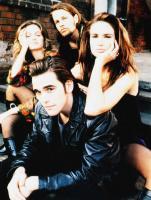 DRUGSTORE COWBOY, Matt Dillon (front), rear from left: Heather Graham, James LeGros, Kelly Lynch, 1989, © Artisan Entertainment