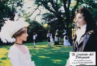 THE DRAUGHTSMAN'S CONTRACT, (aka EL CONTRATO DEL DIBUJANTE), from left: Anne -Louise Lambert, Anthony Higgins, 1982, © United Artists Classics