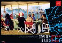 DROWNING BY NUMBERS, (aka CONSPIRACION DE MUJERES), Juliet Stevenson (beret), Joan Plowright (in blue), Bernard Hill (striped jacket), 1988, © Prestige