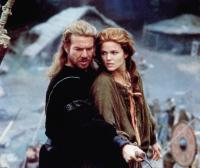 DRAGONHEART, from left: Dennis Quaid, Dina Meyer, 1996, © Universal