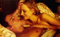 DONNIE BRASCO, Johnny Depp (front), Anne Heche, 1997, © TriStar