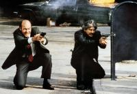 DEATH WISH 3, from left: Ed Lauter, Charles Bronson, 1985. ©Cannon Films