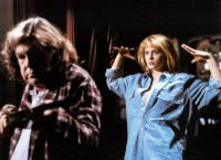 DEADLY FRIEND, from left: Anne Ramsey, Kristy Swanson, 1986. ©Warner Brothers