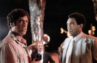 THE DEVIL AND MAX DEVLIN, from left: Elliot Gould, Bill Cosby, 1981. © Buena Vista