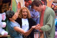 DARKMAN, Frances McDormand (center), Liam Neeson, 1990, (c) Universal