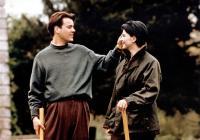 DAMAGE, (aka FATALE), from left: Rupert Graves, Juliette Binoche, 1992. ©New Line Cinema
