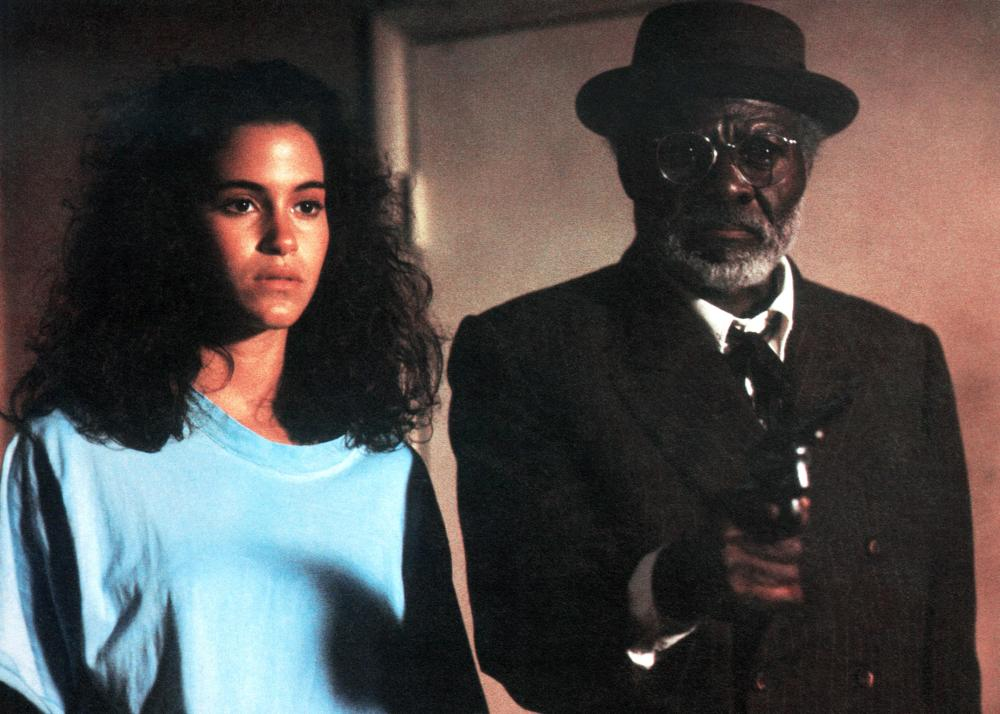 CROSSROADS, from left: Jami Gertz, Joe Seneca, 1986. ©Columbia Pictures