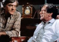 CREEPSHOW, from left: Hal Holbrook, Fritz Weaver, ('The Crate' segment), 1982. ©Warner Brothers