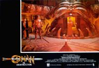 CONAN THE DESTROYER, (aka CONAN EL DESTRUCTOR), from left: Mako, Arnold Schwarzenegger, Olivia d'Abo, 1984, © Universal