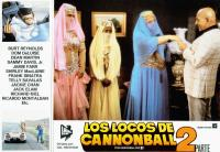 CANNONBALL RUN II, (aka LOS LOCOS DE CANNONBALL 2), Marilu Henner (bottom left), center from left: Burt Reynolds, Sammy Davis Jr., Dom DeLuise, Telly Savalas, 1984, © Warner Brothers
