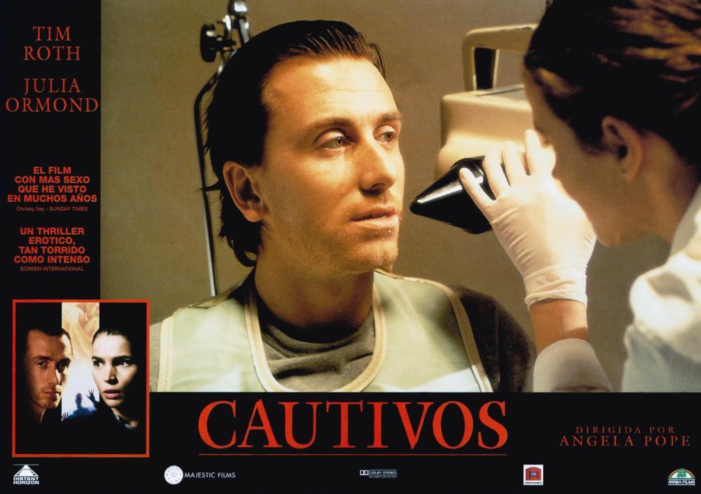 CAPTIVES, (aka CAUTIVOS), bottom from left: Tim Roth, Julia Ormond, center from Left: Tim Roth, Julia Ormond, 1994, © Miramax