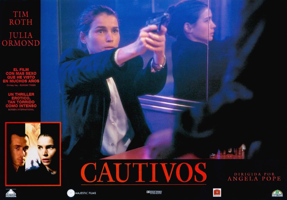 CAPTIVES, (aka CAUTIVOS), bottom from left: Tim Roth, Julia Ormond, Julia Ormond (center), 1994, © Miramax