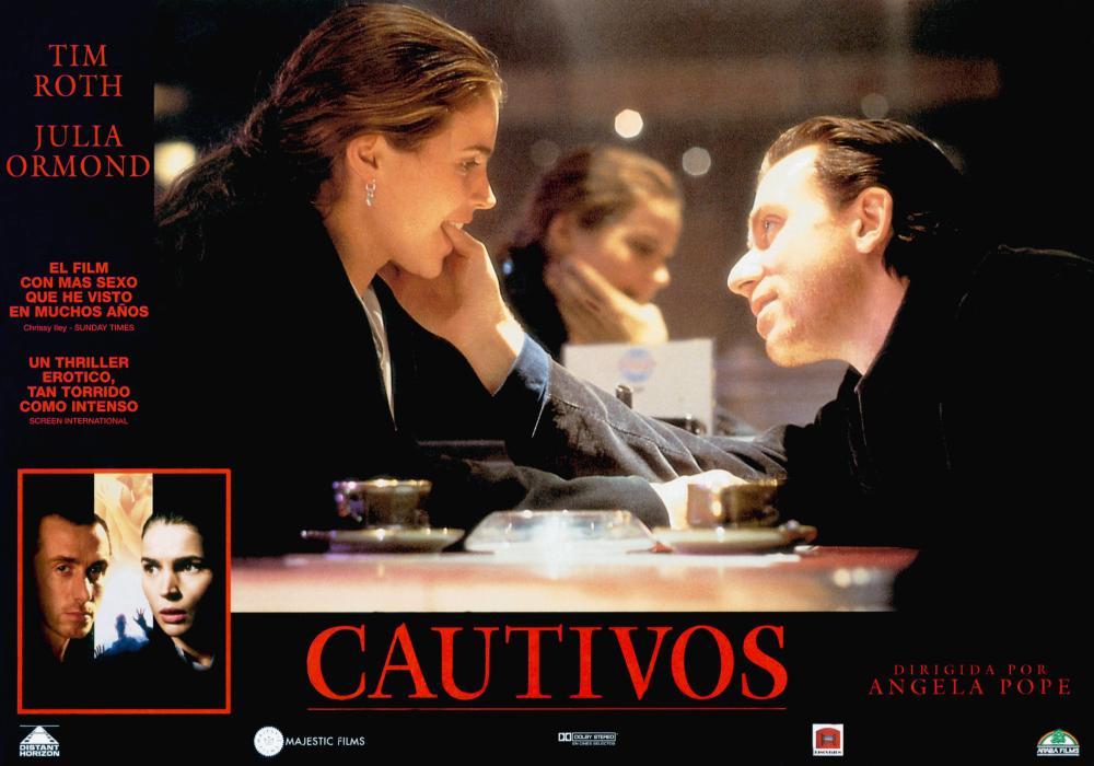 CAPTIVES, (aka CAUTIVOS), bottom from left: Tim Roth, Julia Ormond, center from left: Julia Ormond, Tim Roth, 1994, © Miramax