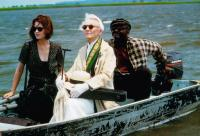 CAMILLA, Bridget Fonda, Jessica Tandy (violin case), George Harris (plaid shirt), 1994, © Miramax
