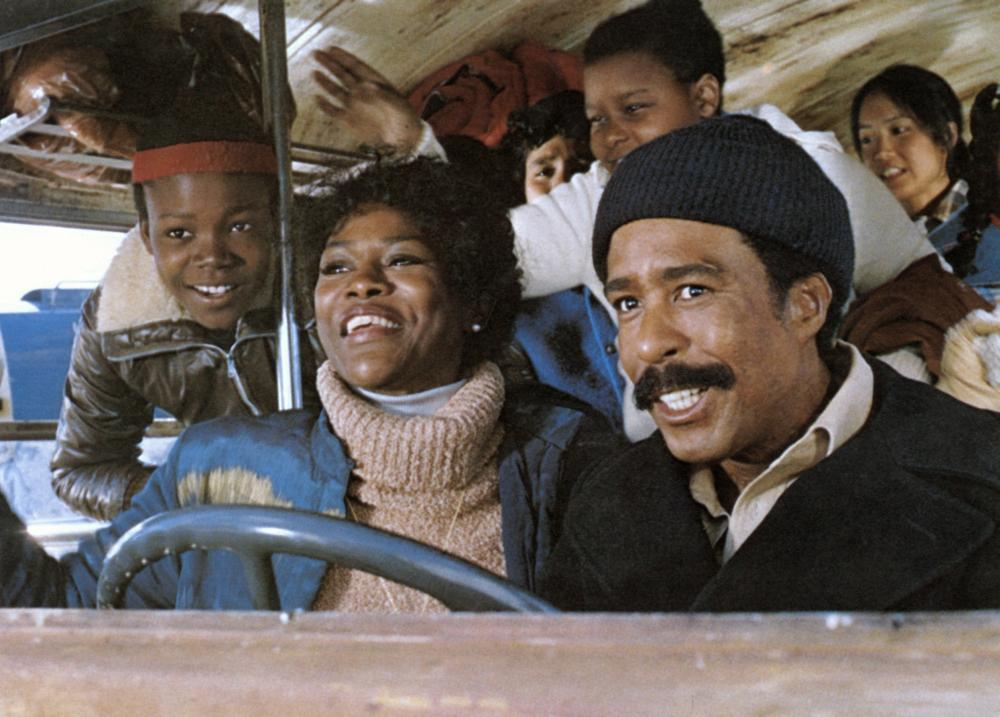 BUSTIN' LOOSE, (front) Alphonso Alexander, Cicely Tyson, Richard Pryor, 1981, (c) Universal