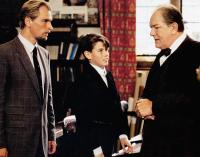 THE BROWNING VERSION, from left: Julian Sands, Ben Silverstone, Michael Gambon, 1994, © Paramount