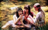 BOLERO, from left: Ana Obregon, Olivia D'Abo, Bo Derek, 1984, © Cannon films