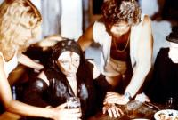 BLOOD TIDE, Lydia Cornell, Lila Kedrova, Martin Kove, Jose Ferrer, 1982
