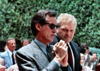 BEST SELLER, from left: James Woods, Brian Dennehy, 1987. ©Orion Pictures