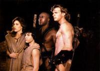 THE BEASTMASTER, Tanya Roberts, Josh Milrad, John Amos, Marc Singer, 1982, © MGM