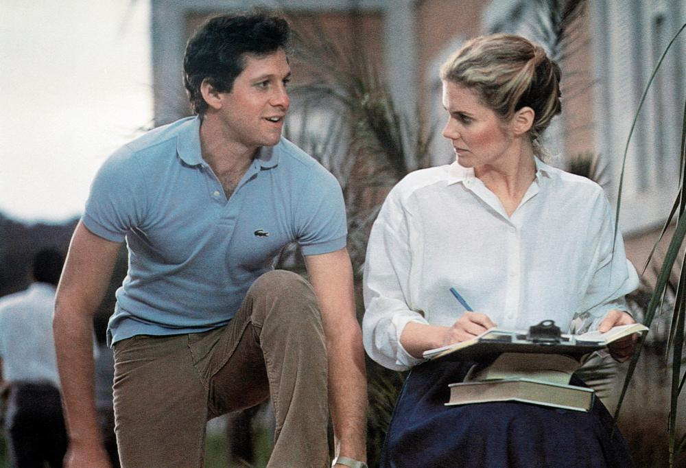 BAD MEDICINE, from left: Steve Guttenberg, Julie Hagerty, 1985. ©20th Century-Fox Film Corporation, TM & Copyright /