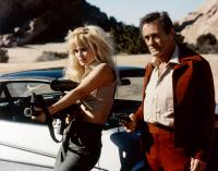ARMED RESPONSE, from left: Lois Hamilton, Dick Miller, 1986. ©Cinetel Films