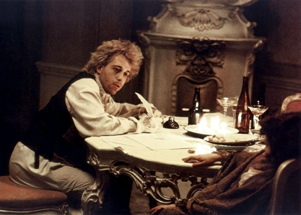 amadeus biopic The legend first entered the public consciousness, in a significant way, with the 1984 movie amadeus in it, wolfgang mozart was killed by his jealous rival, the court composer antonio salieri salieri cleverly took advantage of mozart's fondness for drink, his financial crisis, and his obsession.