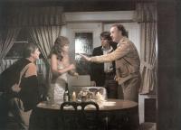 ALL NIGHT LONG, William Daniels, Diane Ladd, Dennis Quaid, Gene Hackman, 1981, (c) Universal