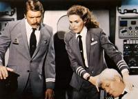 AIRPLANE II: THE SEQUEL, Chad Everett, Julie Hagerty, Peter Graves, 1982, (c) Paramount