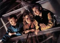 ADVENTURES IN BABYSITTING, from left: Anthony Rapp, Elisabeth Shue, Keith Coogan, 1987. ©Buena Vista Pictures /