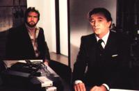 AGENCY, Lee Majors, Robert Mitchum, 1980, (c) Vestron Pictures