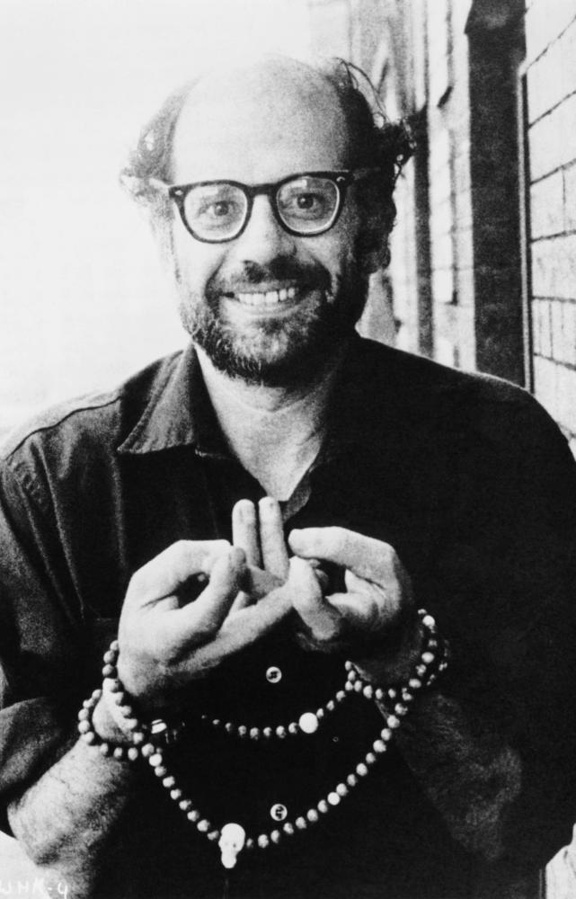 allen ginsberg sunflower sutra Comments & analysis: i walked on the banks of the tincan banana dock and sat down under the huge shade of a southern pacific locomotive to look for the sunset over.